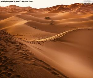 Puzzle Désert du Maroc