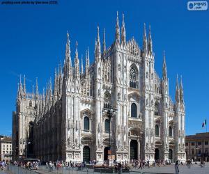 Puzzle Dôme de Milan, Italie