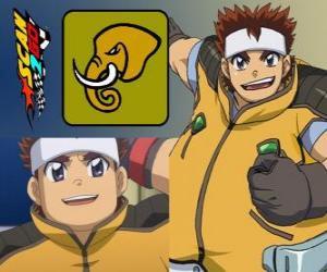 Puzzle Daigo Takayama Scan2Go a le pouvoir de l'éléphant