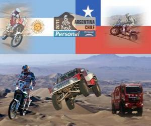 Puzzle Dakar 2011 Argentina Chile