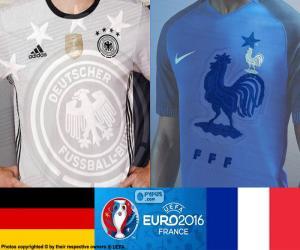 Puzzle DE-FR, demi-finales Euro 2016