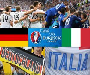 Puzzle DE-IT, quarts de finale Euro 2016