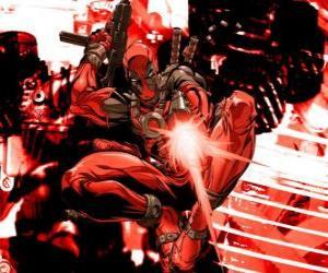 Puzzle Deadpool est un mercenaire ou un super-vilain ou un anti-héros