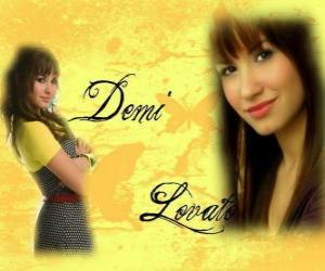Puzzle Demi Lovato, Camp Rock