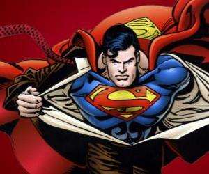 Puzzle Dessin de Superman
