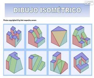 Puzzle Dessins isométriques