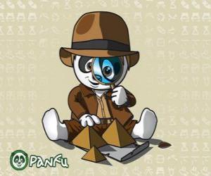 Puzzle détective Panfu