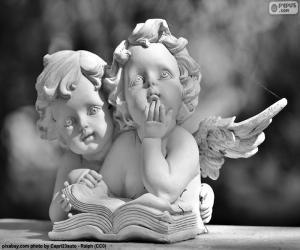 Puzzle Deux anges de l'amour