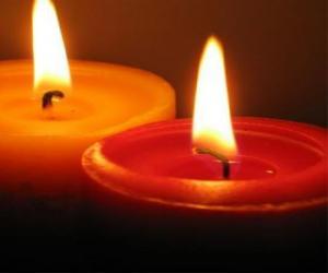 Puzzle Deux bougies