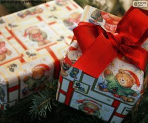 Puzzle Deux cadeaux de Noël