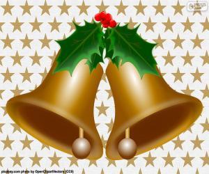 Puzzle Deux cloches de Noël