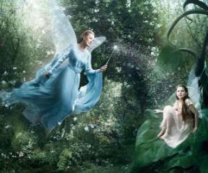 Puzzle Deux fées dans la forêt