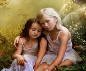 Puzzle Deux jeunes fées