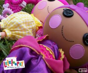 Puzzle Deux poupées Lalaloopsy