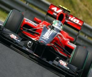 Puzzle di Grassi - Virgin Lucas - Grand Prix de Hongrie 2010