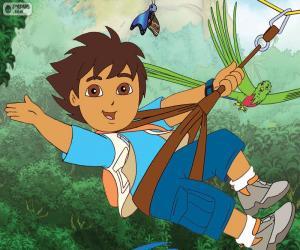 Puzzle Diego et la tyrolienne