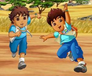 Puzzle Diego Marquez, un garçon aventureux qui aide les animaux en danger