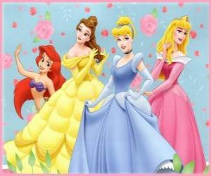 Puzzle Disney Princesses