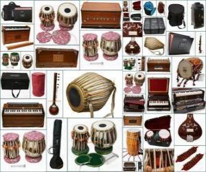 Puzzle Divers instruments
