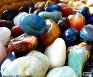 Puzzle Divers minéraux
