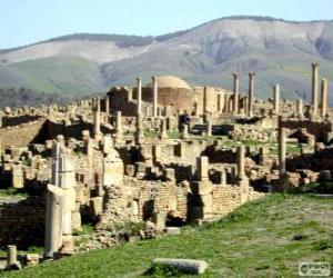 Puzzle Djemila site archéologique Roman, Algérie