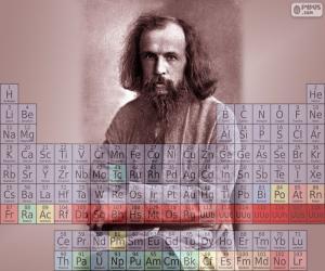 Puzzle Dmitri Mendeleïev