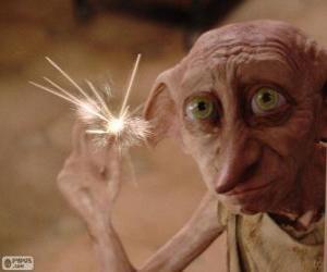 Puzzle Dobby, un elfe de maison de Harry Potter