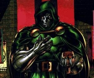 Puzzle Docteur Fatalis est un supervilain et ennemi des Quatre Fantastiques