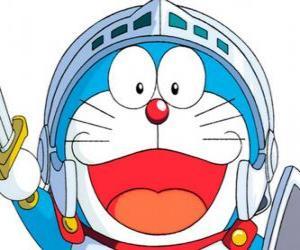 Puzzle Doraemon dans l'une de ses aventures