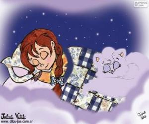 Puzzle Doux rêves. Dessin de Julieta Vitali