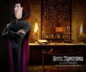 Puzzle Dracula, le propriétaire de l'Hôtel Transylvanie