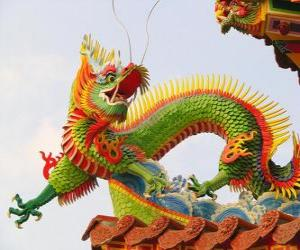 Puzzle Dragon oriental