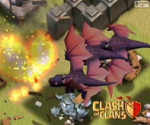 Puzzle Dragons 2, Clash of Clans