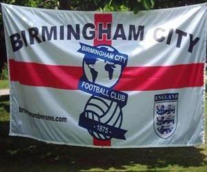 Puzzle Drapeau Birmingham City F.C.