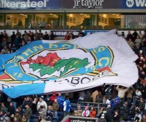 Puzzle Drapeau de Blackburn Rovers F.C.