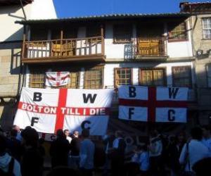 Puzzle Drapeau de Bolton Wanderers F.C.