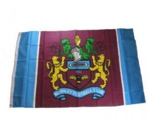 Puzzle Drapeau de Burnley F.C.
