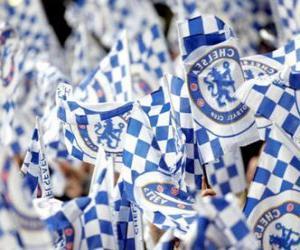 Puzzle Drapeau de Chelsea F.C.