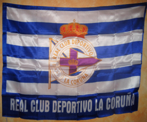 Puzzle Drapeau de Deportivo La Corogne
