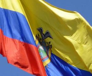 Puzzle Drapeau de l'Équateur