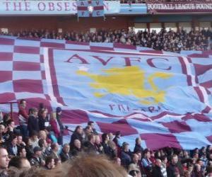 Puzzle Drapeau de l'Aston Villa FC