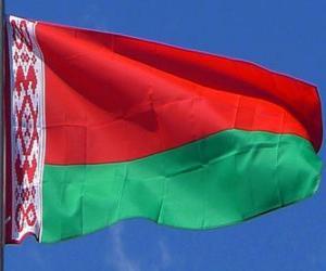 Puzzle Drapeau de la Biélorussie