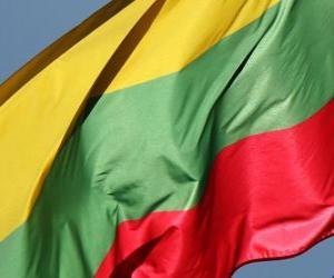 Puzzle Drapeau de la Lituanie