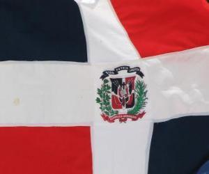 Puzzle Drapeau de la République Dominicaine