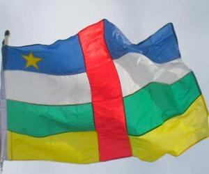 Puzzle Drapeau de la République centrafricaine