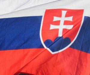 Puzzle Drapeau de la Slovaquie