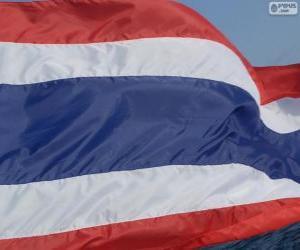 Puzzle Drapeau de la Thaïlande
