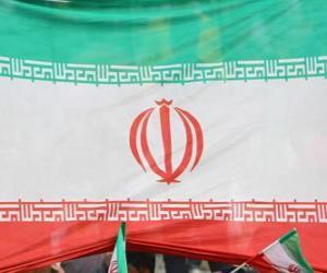 Puzzle Drapeau de l'Iran