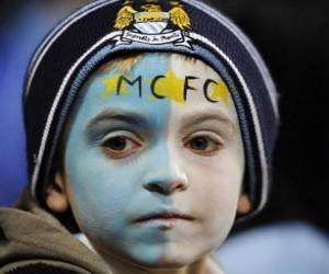 Puzzle Drapeau de Manchester City F.C.