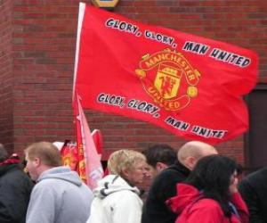 Puzzle Drapeau de Manchester United F.C.